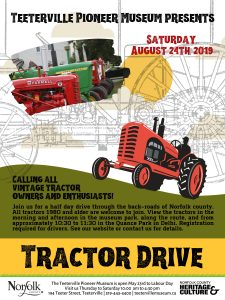 Poster describing the Tractor Drive